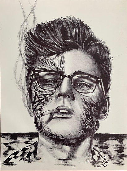 James Dean by Chad Merrill