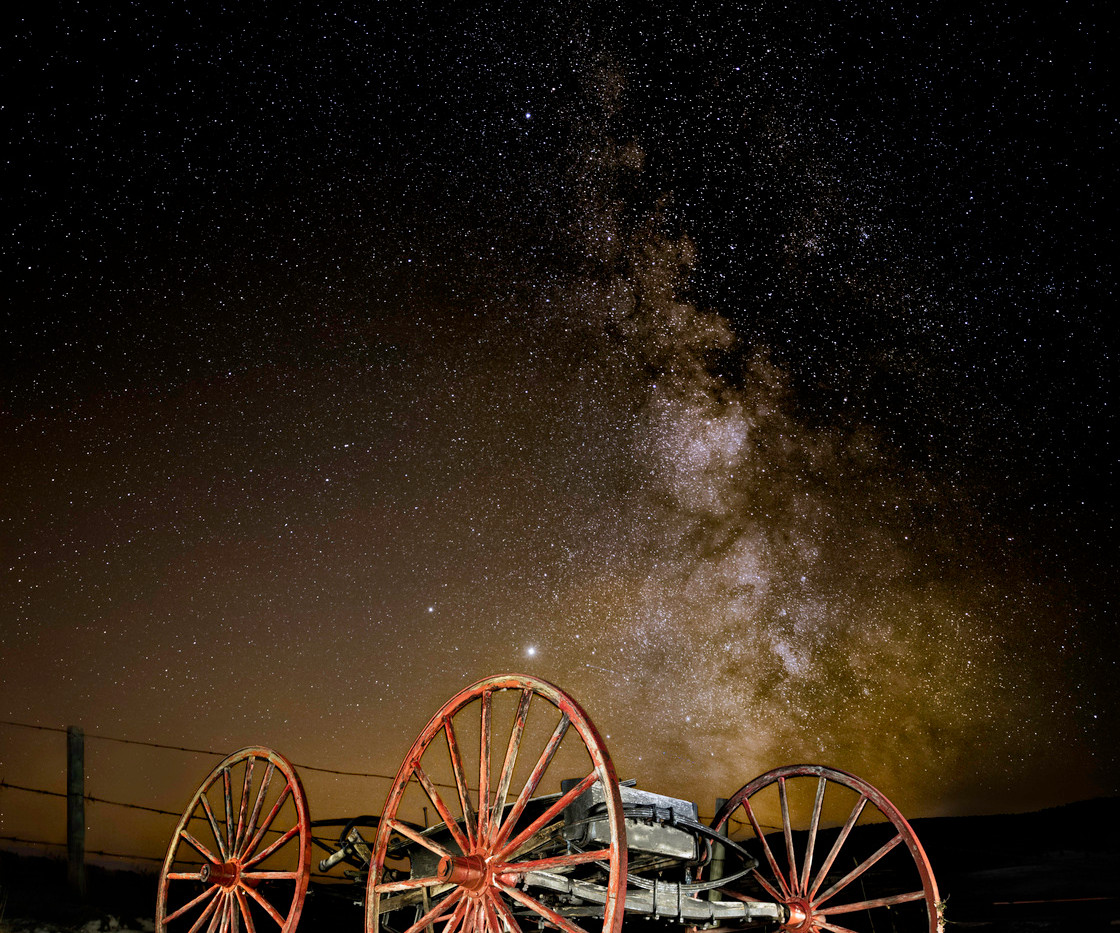 milky way red wagon