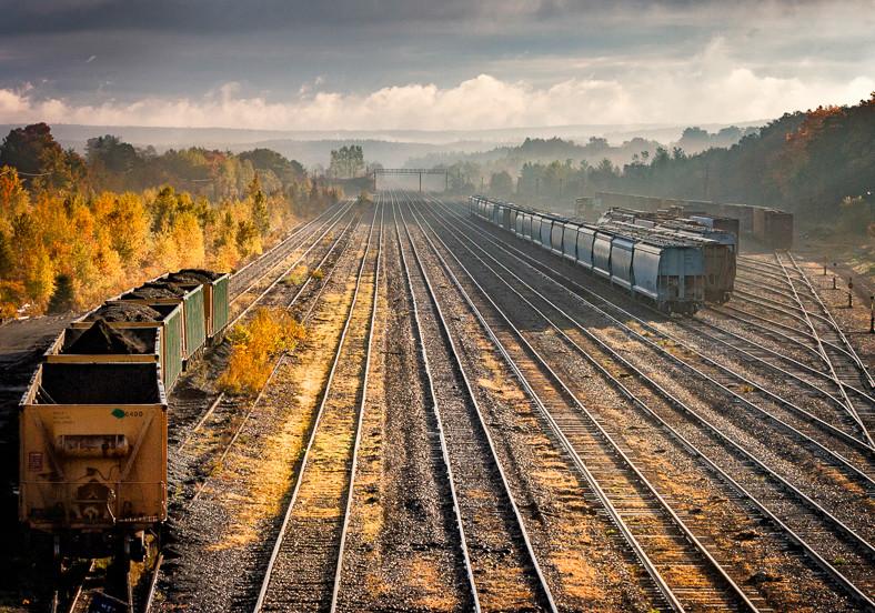 Early morning Railway Mist