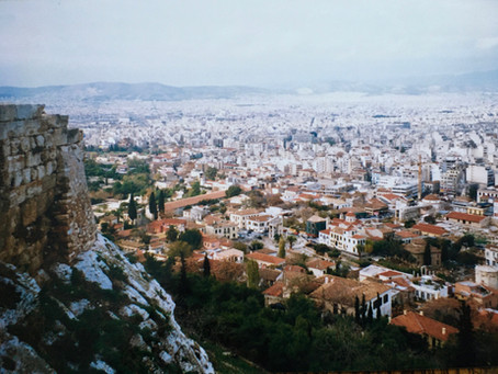 Magic & Melancholy: Christmastime in Athens, 1998. PLUS a Recipe for Melomakarona.