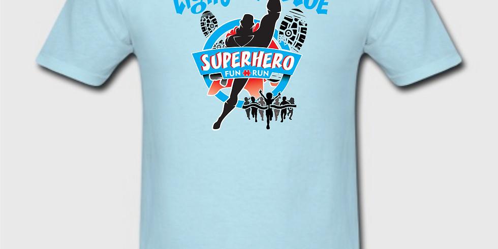 Official Light it up Blue T-Shirt
