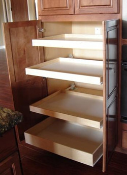 Pull-Out-Shelving