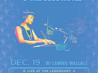 Live Event! Chihiro & The Blue Notes play the Horseshoe Tavern