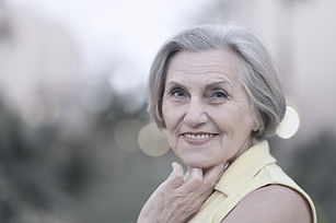Older Woman Smiling | Angel Heart Home Care | The Best Care for Your Loved Ones