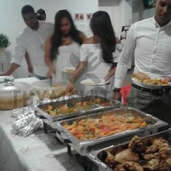 Guests Enjoying Spit Braai