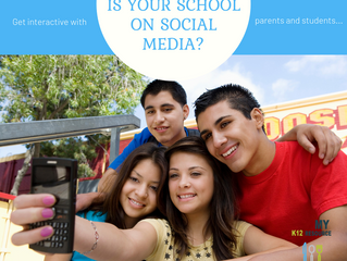 School Food + Social Media = Excitement