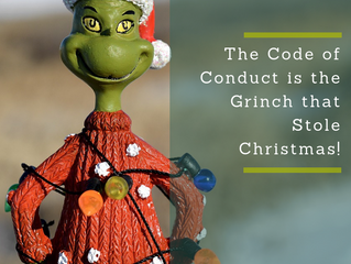 The Code of Conduct is the Grinch that Stole Christmas!
