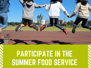 Think Warm! Participate in the Summer Food Service Program