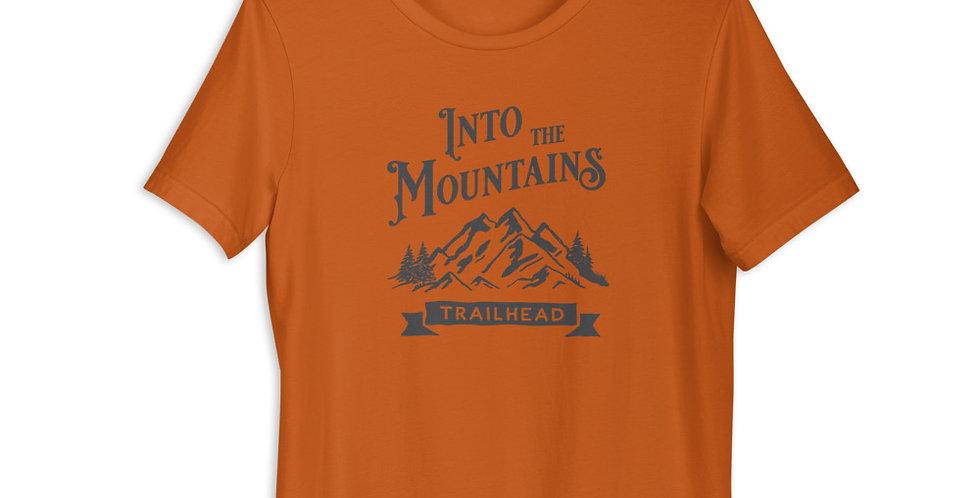 Into The Mountains - DARK LOGO (Unisex Tee)