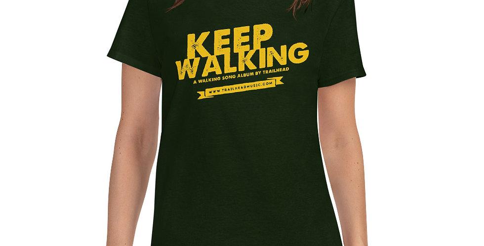 """Keep Walking"" T-Shirt (Frauen/Women)"
