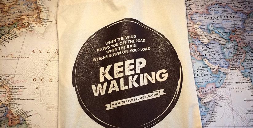 Keep Walking - Bag (beige)