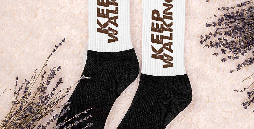 """""""Keep Walking"""" Socks"""