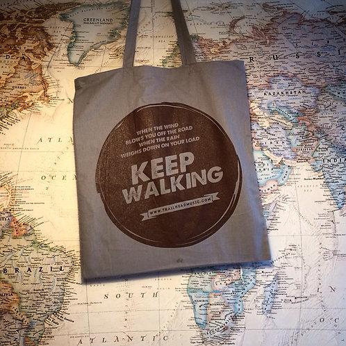 Keep Walking - Bag (grey)