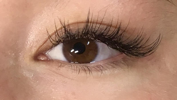 spikey classic eyelash extensions