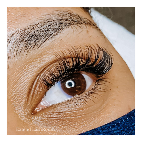 Maximum volume lash extensions