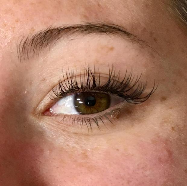 open eye classic lash extensions
