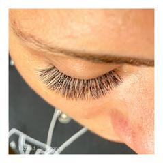 cat eye lash extensions natural