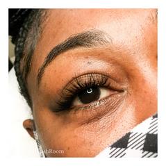 cat eye natural flirt eyelash extensions