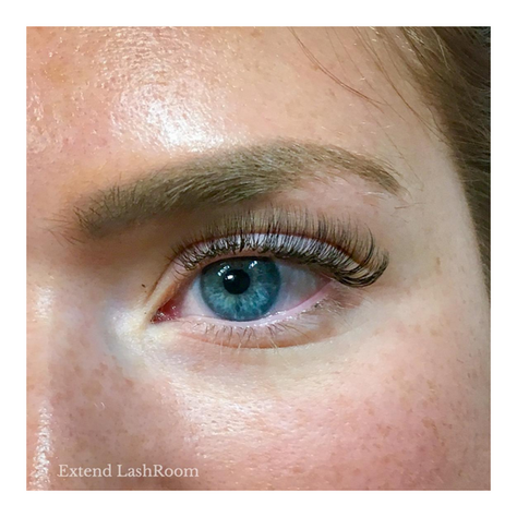 natural flirt, doll eye lash extensions