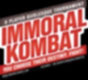 Immoral Kombat Logo