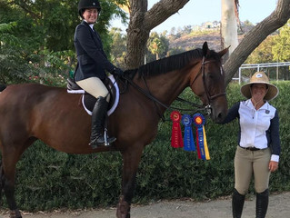 Del Mar Horse Show Results Sept 2018
