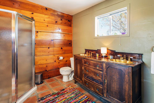 Pool House Jack and Jill Bathroom