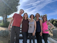 Retreat Participants with Mercury Moon's Lori Pirri