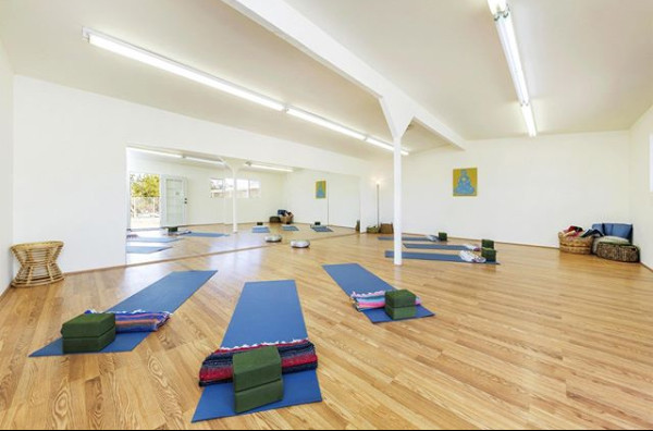 Inside the Yoga Studio