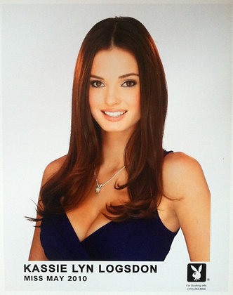 8x10 Autographed Official Miss May 2010 Headshot