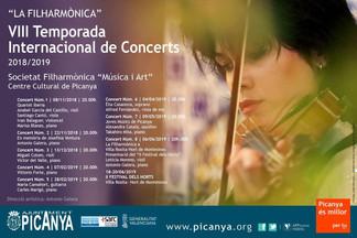 Picanya arrancala vuitena edició de la seua Temporada Internacional de Concerts