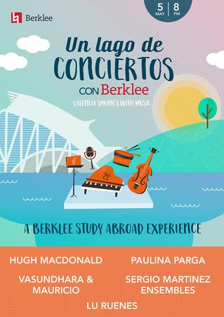 """VUELVE """"UN LAGO DE CONCIERTOS"""" DE LA MANO DE BERKLEE"""