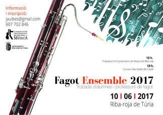 FAGOT ENSEMBLE 2017 A RIBA-ROJA