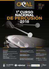 ÚLTIMAS PLAZAS PARA EL PRIMER CURSO NACIONAL DE PERCUSIÓN DE LA OCAL