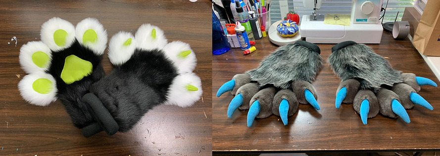 Hand Paws Costumes