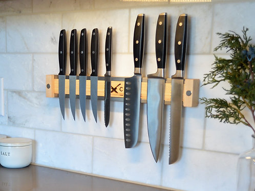 Magnetic Knife Holder in Maple