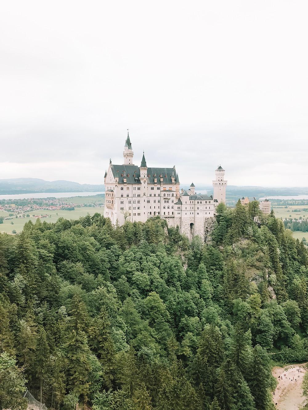 Neuschwanstein Castle Bavaria Germany fairytale disney inspired