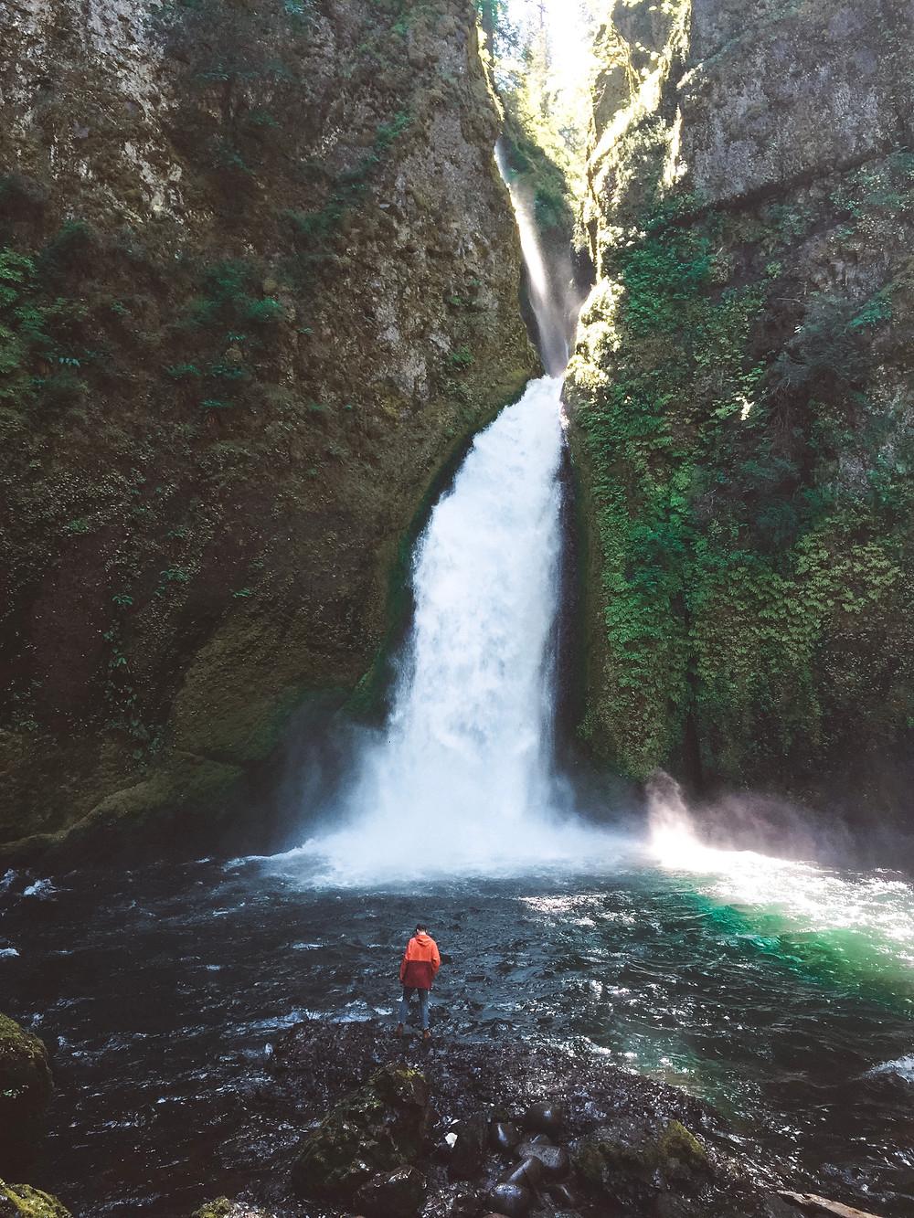 wahclella falls oregon portland columbia river gorge