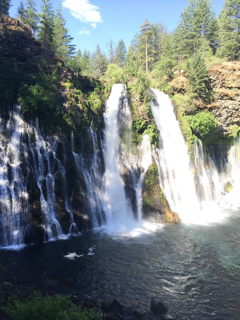 Waterfall at McArthur-Burney Falls