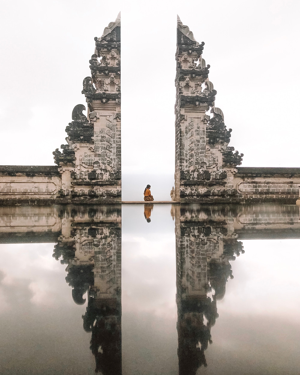 gate to heaven at lempuyang temple in bali
