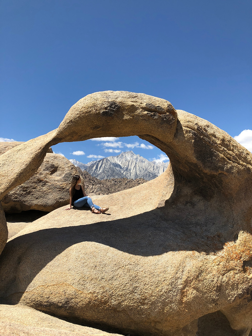 Mobius Arch at Alabama Hills in Lone Pine
