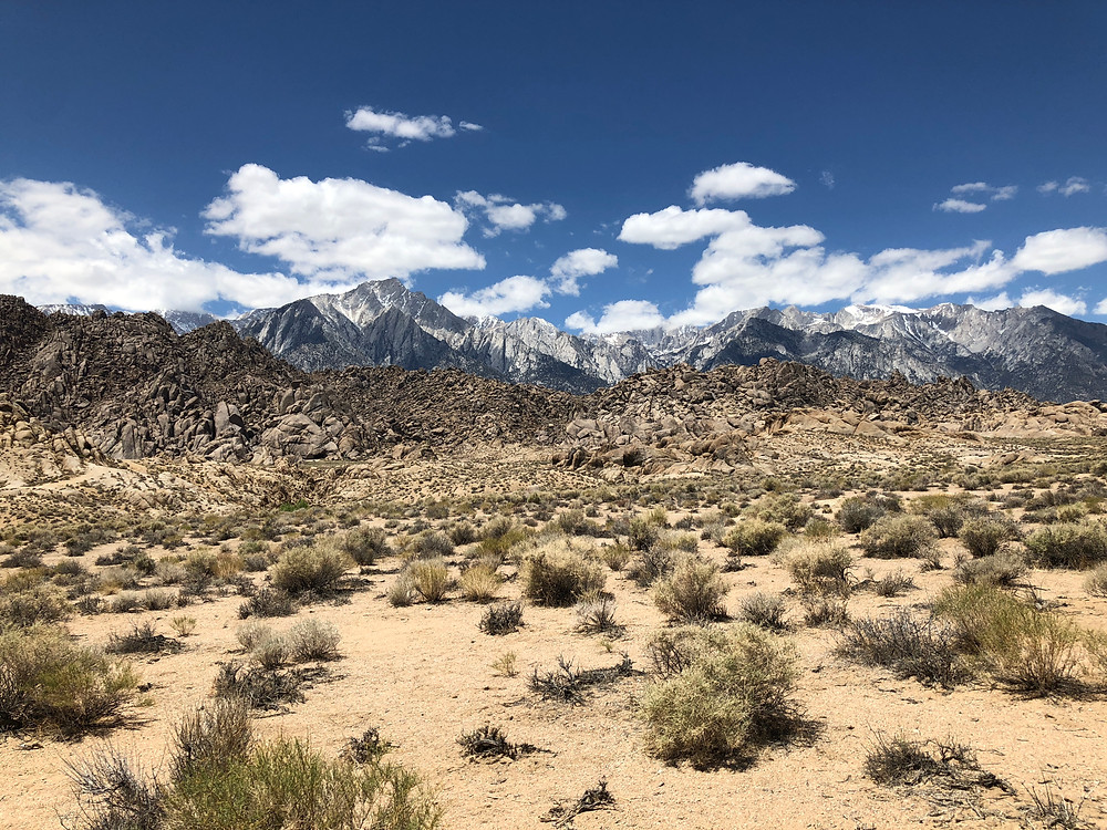 Alabama Hills in Lone Pine