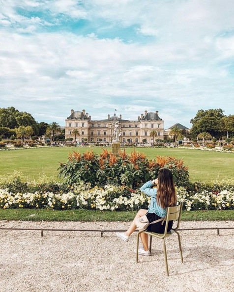 View of Luxembourg Gardens
