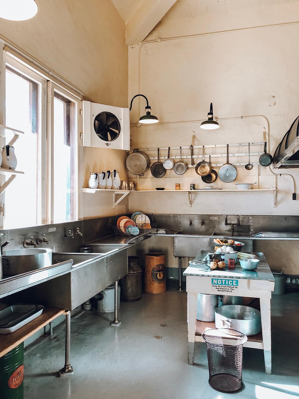 kitchen hearst castle