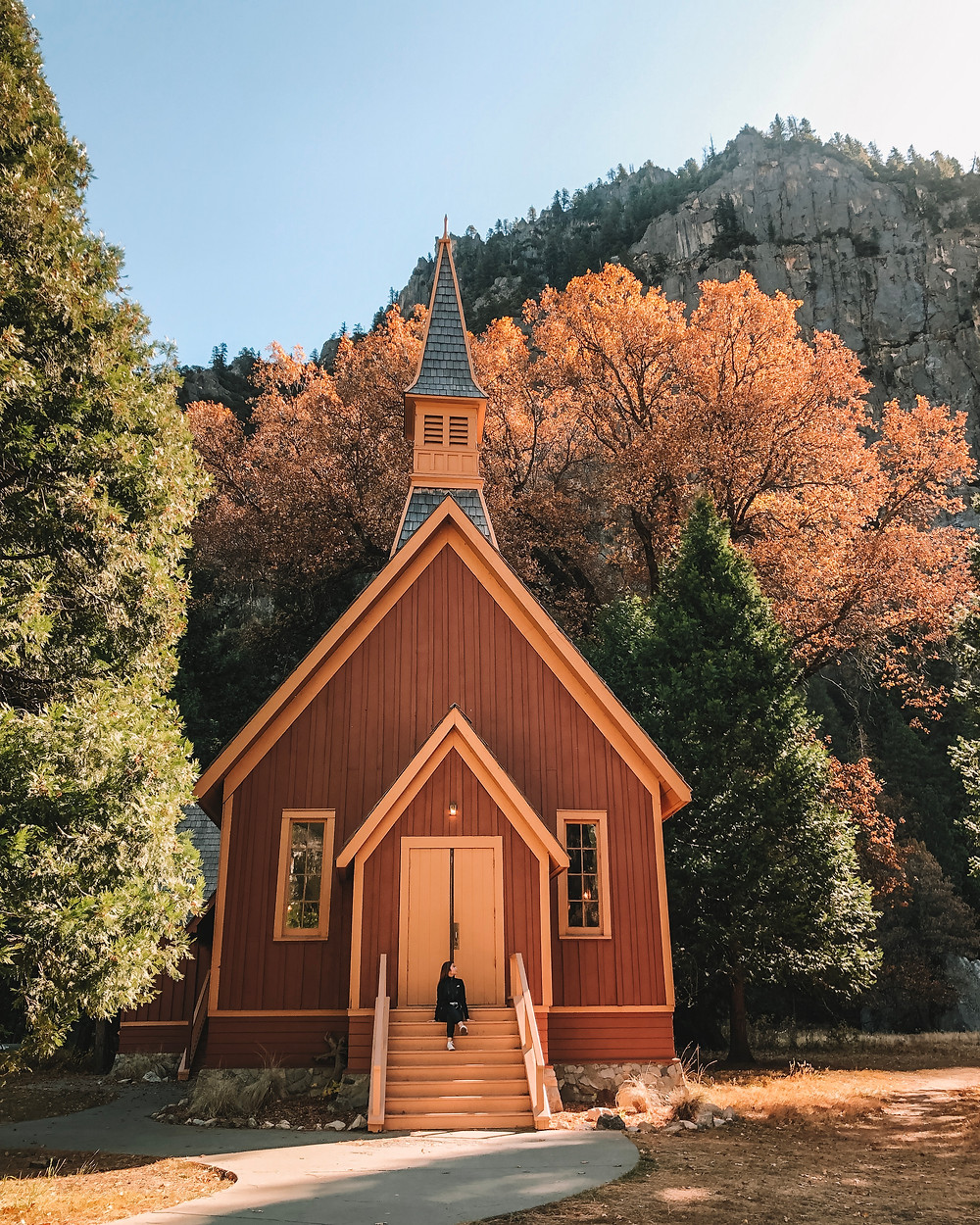 yosemite valley chapel national park