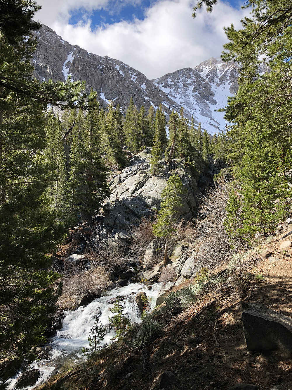 Alpine Scenery at North Fork Trail in Big Pine