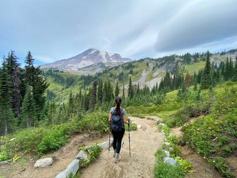 Mount Rainier National Park   Hiking the Skyline Loop Trail