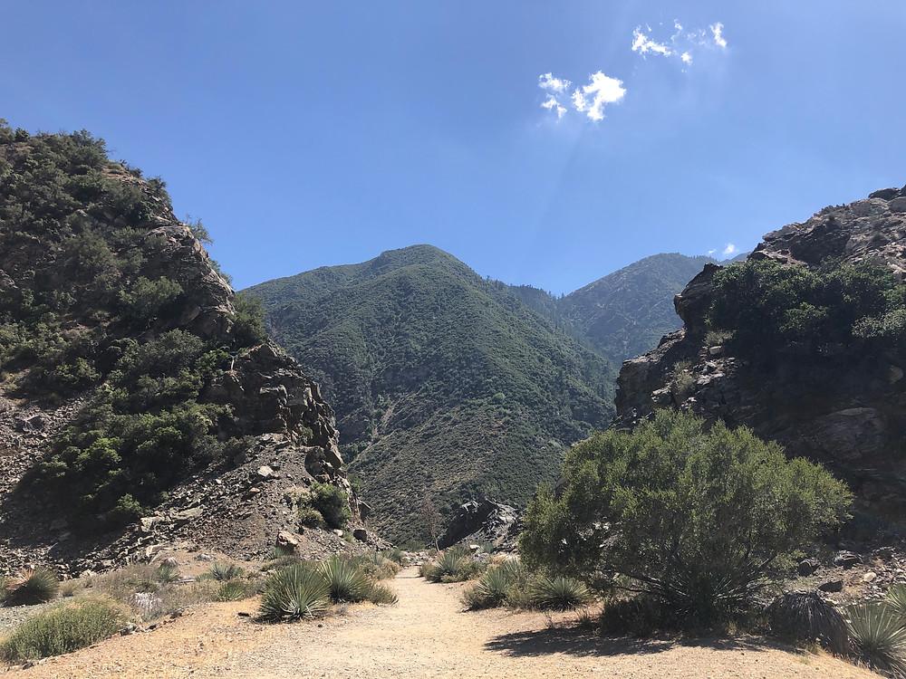 bridge to nowhere san gabriel mountains azusa hiking bungee jumping glendora