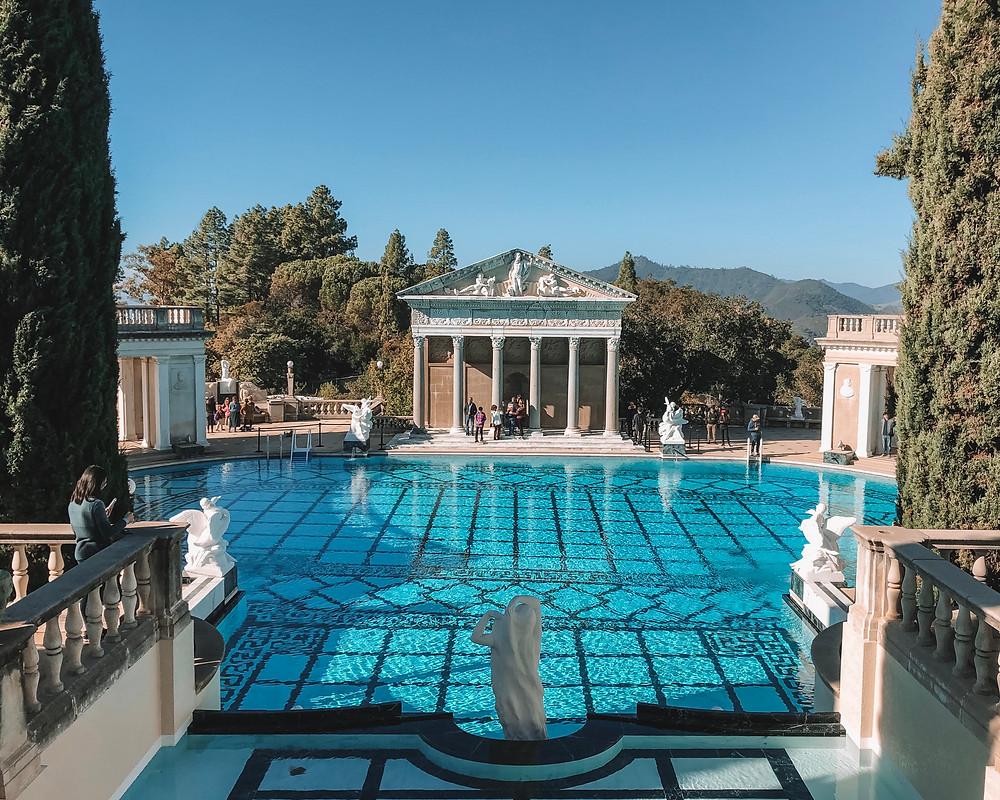 neptune pool hearst castle
