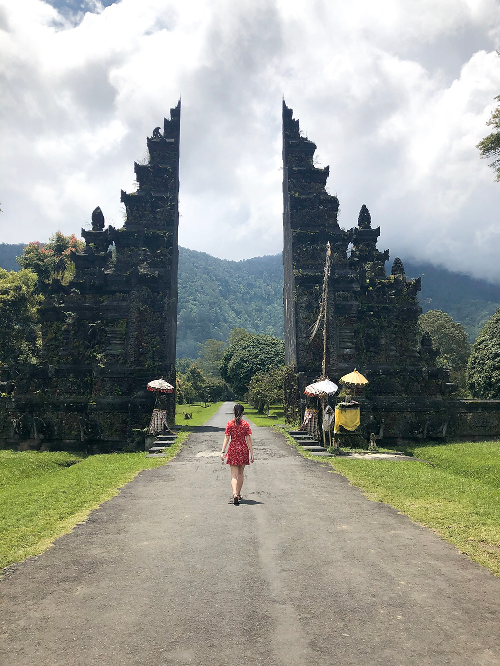 handara golf resort gate bali