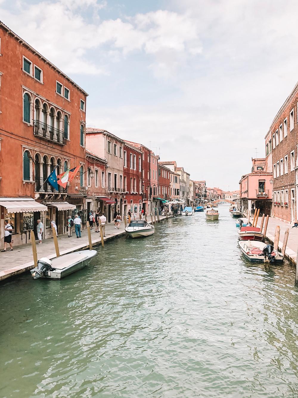 murano island venice italy canals